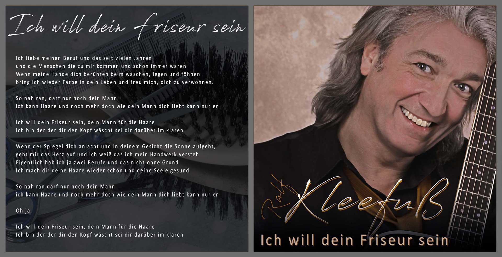 Ralf Kleefuss - Ich will dein Friseur sein